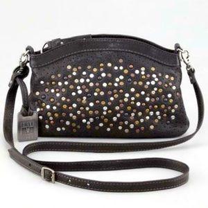 Frye Deborah Stud crossbody / Black Leather Bag W/ DUSTBAG NO BAG TAG CHARM🔥